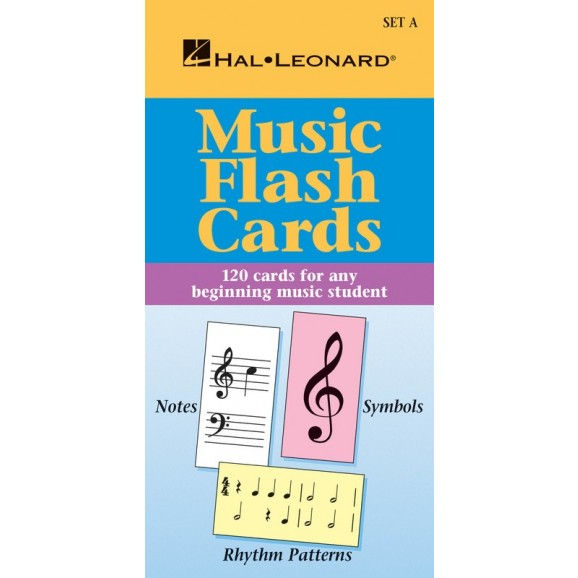 Music Flash Cards - Set A -  Various   (Piano) Hal Leonard Student Piano Library - Hal Leonard. Flash Cards Book