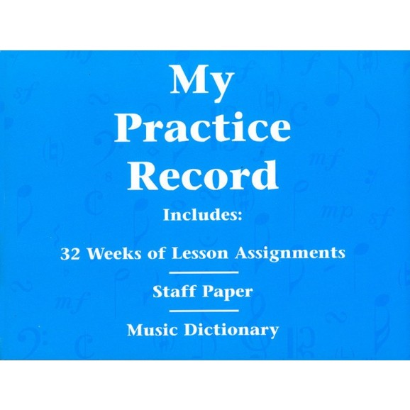 My Practice Record - Various    (Piano) HLSPL - Hal Leonard. Softcover Book